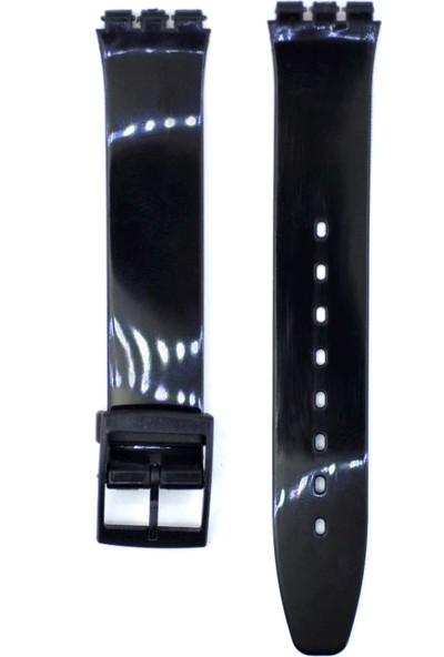 Ztd Strap Swatch Uyumlu Skin 16Mm Silikon Saat Kordonu Swc139