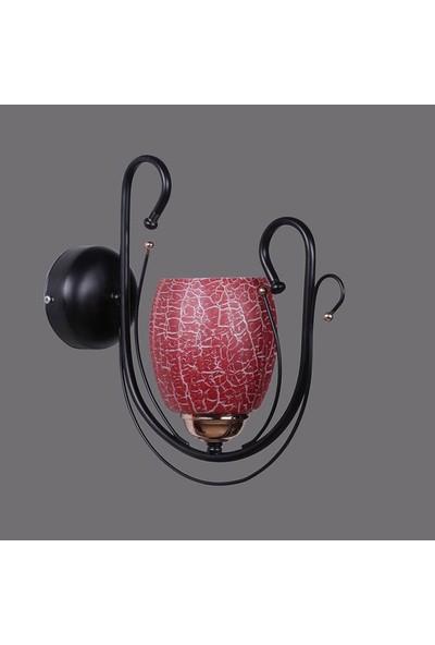 Lumexx Uraz Aplik Kırmızı Çatlak Camlı