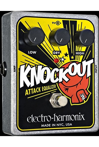 Electro Harmonix Pedal Gitar Knockout Attack Equalizer Reissue (Knockout)