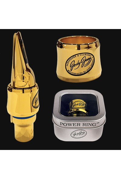 Jody Jazz Power Ring Gold Tenor Saksafon Metal Ağızlık İçin Bilezik Mt-1