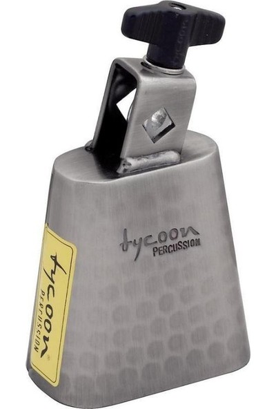 Tycoon Bell Cowbell Hand-Hammered 5'' (TWH-50)