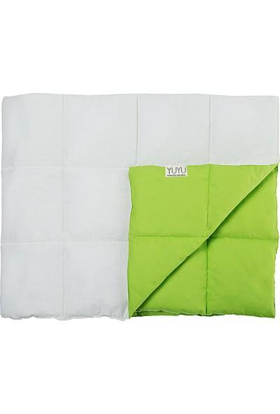 Yuyu Kid Yeşil Ağırlıklı Battaniye