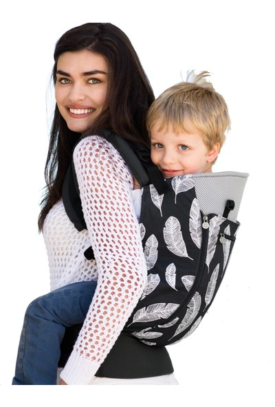 LILLEbaby Carry On Feathers Ergonomik Kanguru