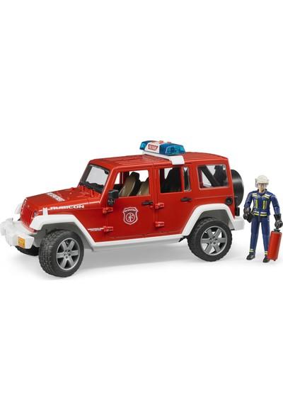 Bruder Jeep Wrangler Rubicon İtfaiye Ve İtfaiyeci BR02528