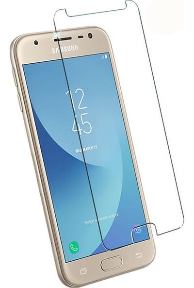 Case 4U Samsung Galaxy J3 Pro 2017 J730 Ekran Koruyucu Temperli Cam