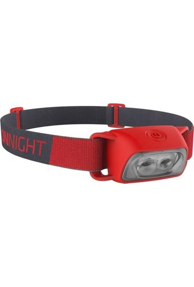 Onnight 100 Outdoor Kafa Lambası - Kırmızı - 80 Lümen Decathlon