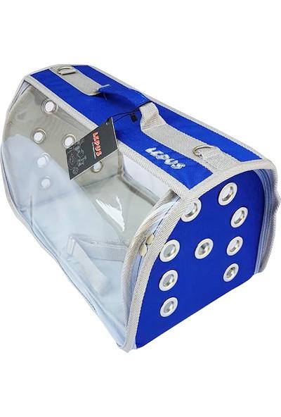 Lepus Flybag Şeffaf Kedi Ve Köpek Taşıma Çantası 25X40X25H Cm
