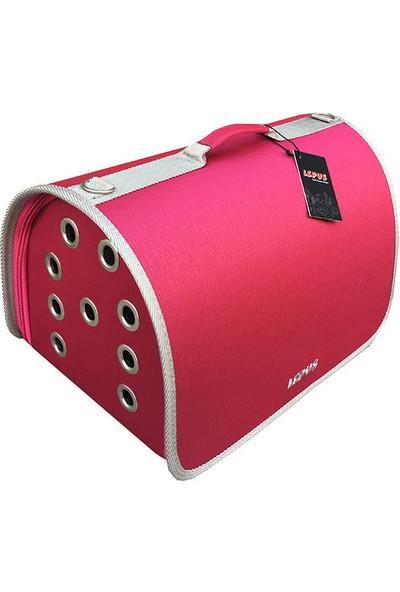 Lepus Flybag Kedi Ve Köpek Ekose Seyahat Çantası 25X40X25H Cm