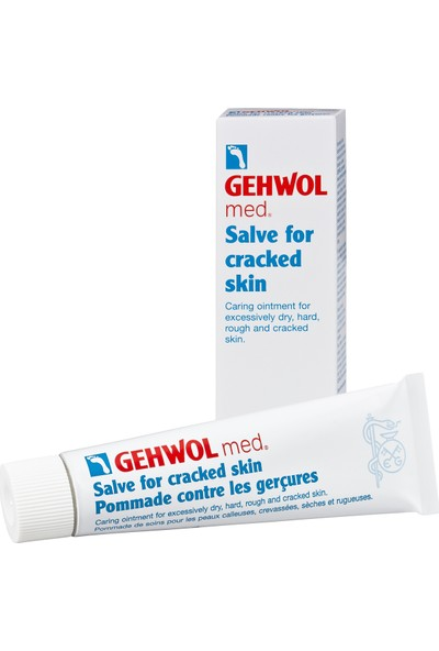 Gehwol Med Salve for Cracked Skin - Çatlak Deri İçin Merhem