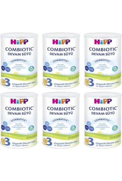 Hipp 3 Organik Combiotic Devam Sütü 350 gr 6 Adet