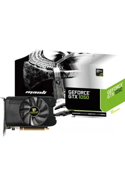 Manli M-NGTX1050G/5R8HDP GTX 1050 DDR5 128Bit 2GB Ekran Kartı (İthalatçı Firma Garantili)