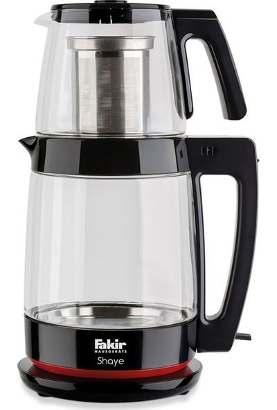 Fakir Shaye Cam Çay Makinesi Siyah