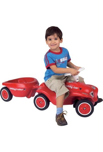 Big New Bobby Car Römork Kırmızı
