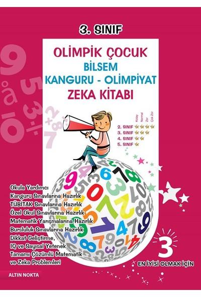 Altın Nokta 3. Sınıf Olimpik Çocuk Bilsem - Kanguru - Olimpiyat Zeka Kitabı Tamamı Çözümlü