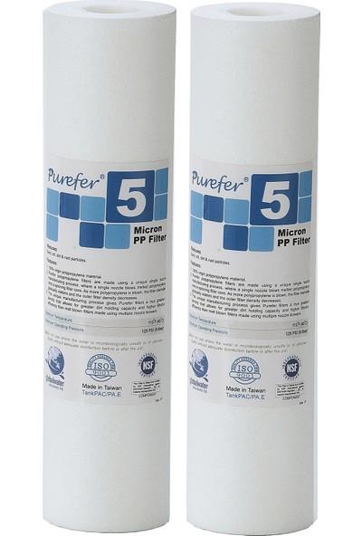 Global Water Solutions Kum ve Tortu Filtresi / 5 mikron (2 Adet)