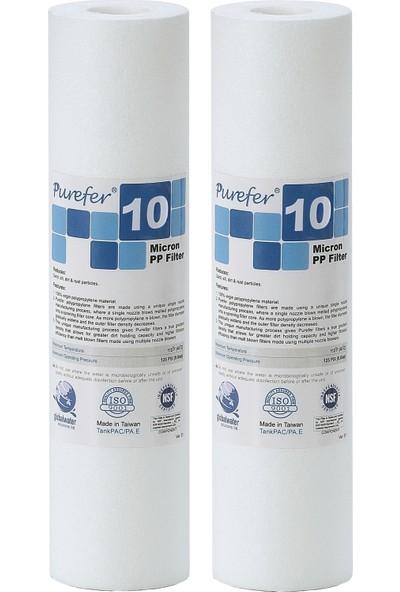 Global Water Solutions Kum ve Tortu Filtresi / 10 mikron (2 Adet)