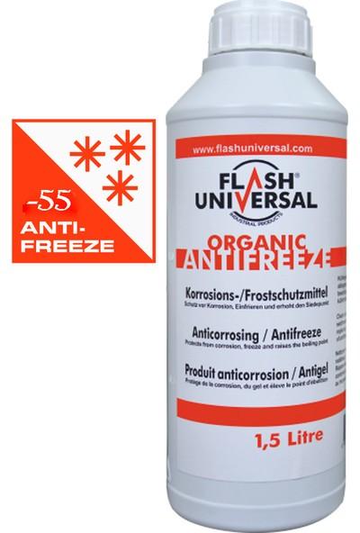 Flash Universal -55 Derece Kırmızı Organik Antifiriz - 1,5LT.