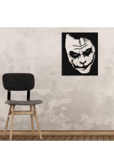 Dekoragel Joker Why So Serious Metal Duvar Tablosu