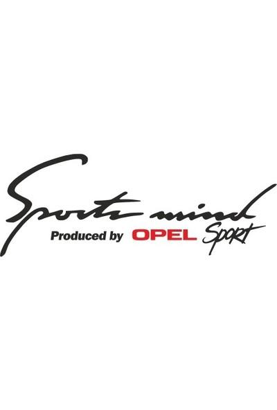 Smoke Opel Sport Mind Oto Sticker