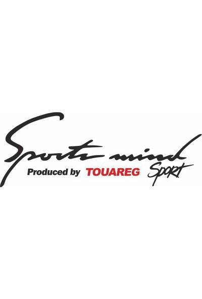 Smoke Wolksvagen Touareg Sport Mind Oto Sticker