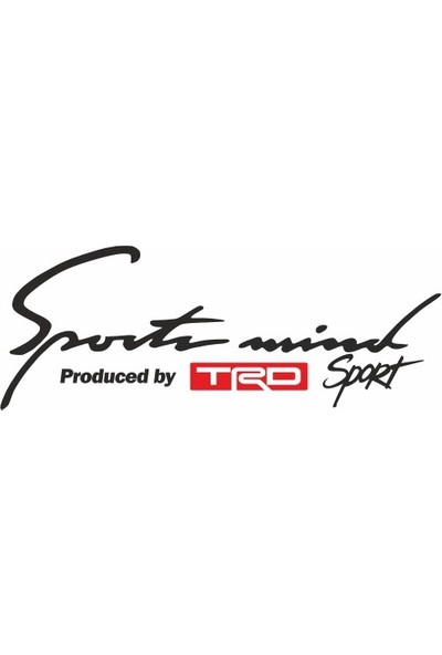 Smoke Toyota Trd Sport Mind Oto Sticker