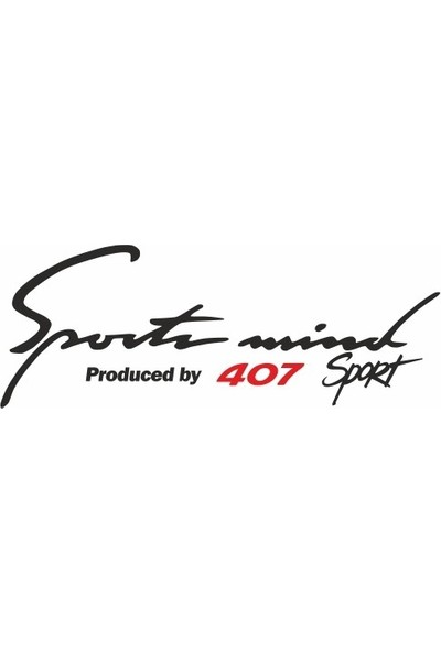 Smoke Peugeot 407 Sport Mind Oto Sticker