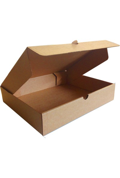 Kolievi Kolievi Kapaklı Kutu (100 Adet) 25x20x5cm