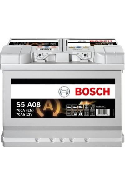 Bosch 12V 70Ah S5 A08 760A (En) AGM Start&Stop Akü