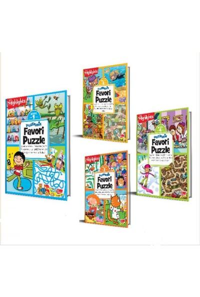 Highlights Puzzlemania Favori Puzzle 4'lü Set