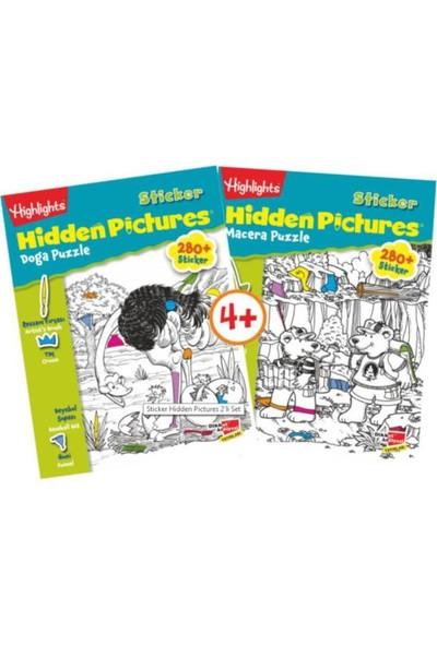 Highlights Sticker Hidden Pictures 2'li Set