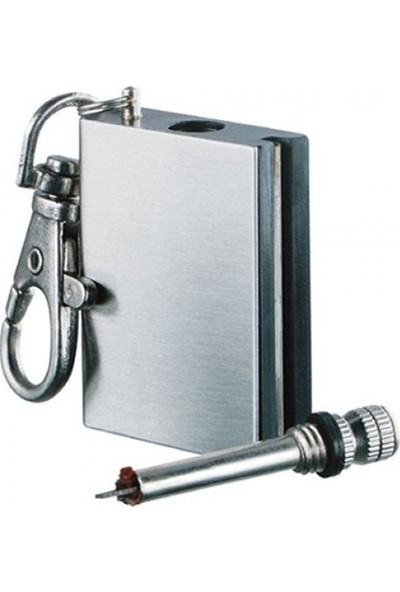 Zippo Benziniyle Calisan Metal Kibrit Cakmak