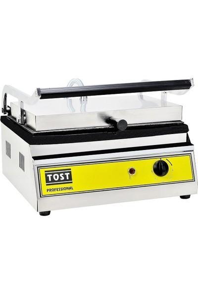 Emir Sanayi Büfe Tipi Profesyonel Döküm 12 Dilim Elektrikli Tost Makinası