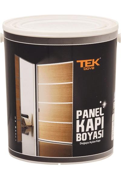 Tek Panel Kapı Boyası (Subazlı) Beyaz 0,75 Lt