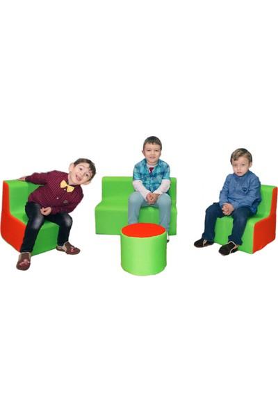 Dilteks Çocuk Odası Sünger Koltuk Takımı