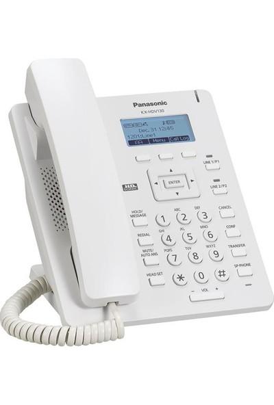 Panasonic KX-HDV130 Beyaz IP SIP Masaüstü Telefon