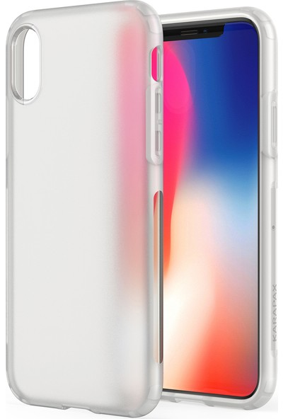 Anker Karapax Touch Apple iPhone X Silikon Kılıf Beyaz - A9004