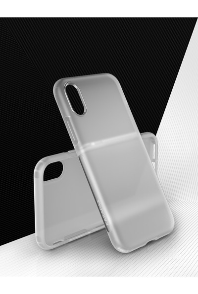 Anker Karapax Touch Apple iPhone X Silikon Kılıf Beyaz - A9004