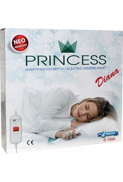 Princess Tek Kişilik Elektrikli Battaniye D1000