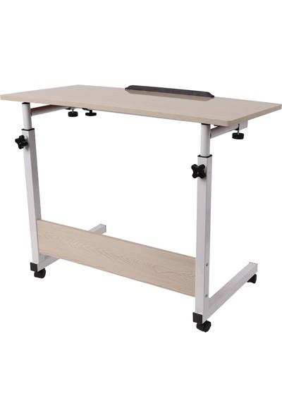 Hodbehod Portatif Eğim Ve Yükseklik Ayarlı Ders Çalışma Sehpası Laptop Masası