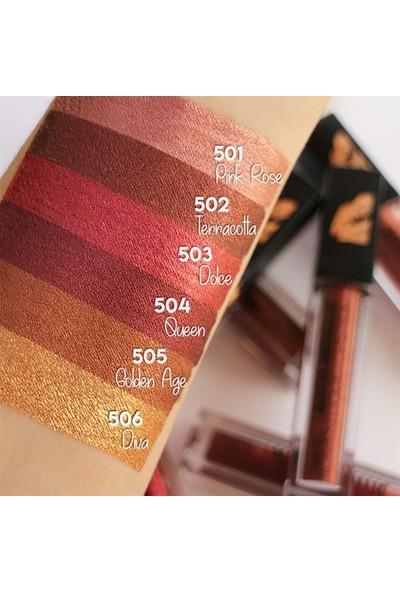 Pastel Profashion Matte Metallic Liquid Lipstick 505