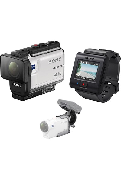 Sony Fdr-X3000R 4K Travel Kit Aksiyon Kamera