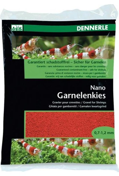 Dennerle Nano Gravel For Shrimps İndisch Red 2Kg