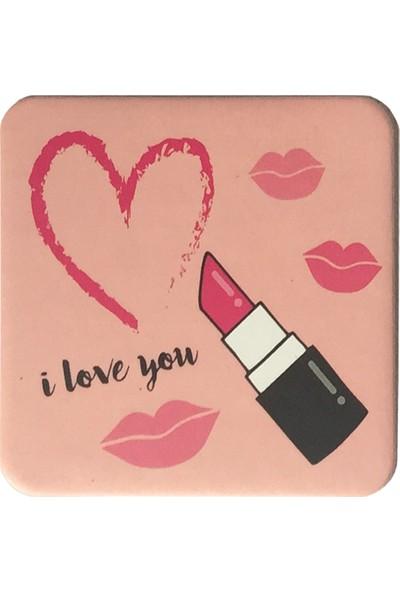 Gogo Love&Lipstick Bardak Altlığı Seti