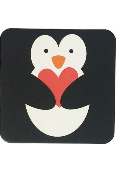 Gogo Penguin Bardak Altlığı Seti