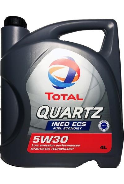 Total Quartz INEO ECS 5W-30 Motor Yağı 4 lt Üretim Yılı: 2020