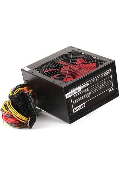 TX PowerMAX 350W 2xSATA, 2xIDE 8Pin CPU Bilgisayar Power Supply (TXPSU350S1)