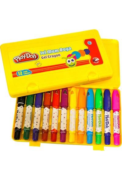 Play-Doh 12 Renk Jel Crayon