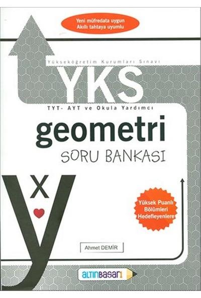 Altınbaşarı Yks-Tyt Geometri Soru Bankası (Ahmet Demir) - Ahmet Demir