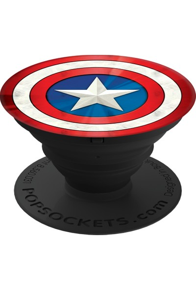 PopSockets Captain America Shield Icon Telefon Tutacağı