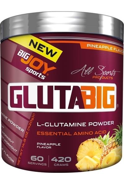 Bigjoy Gluta Big % 100 Glutamine Powder 420 Gr Ananas
